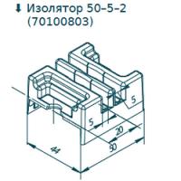 Изолятор полимерный 50-5-2