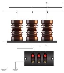 Комплект индикации наличия напряжения КИНН-10