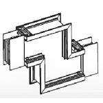 Шинопровод. Угол двойной z-образный вертикальный